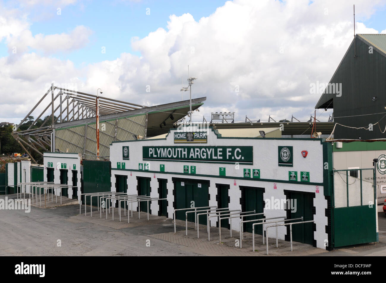Home Park Plymouth Argyle Football Ground