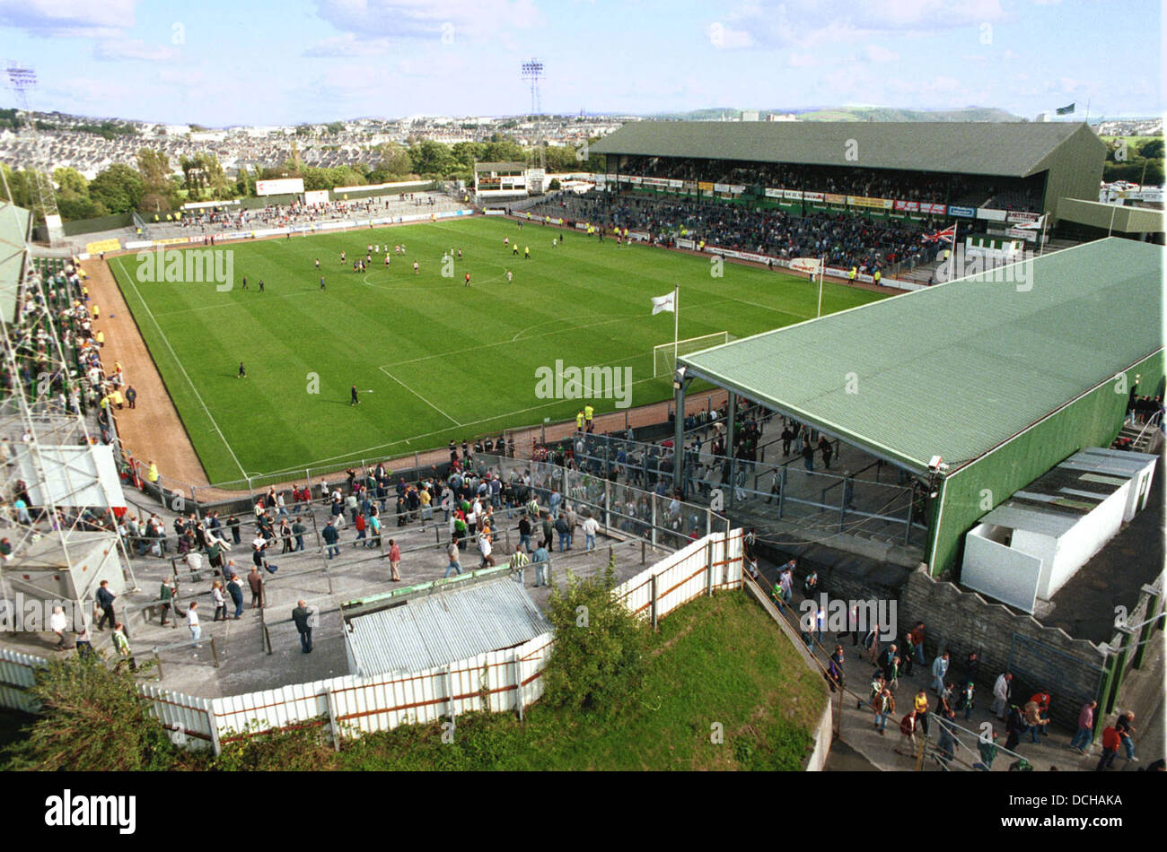 Home Park Football Ground The Of Plymouth Argyle FC