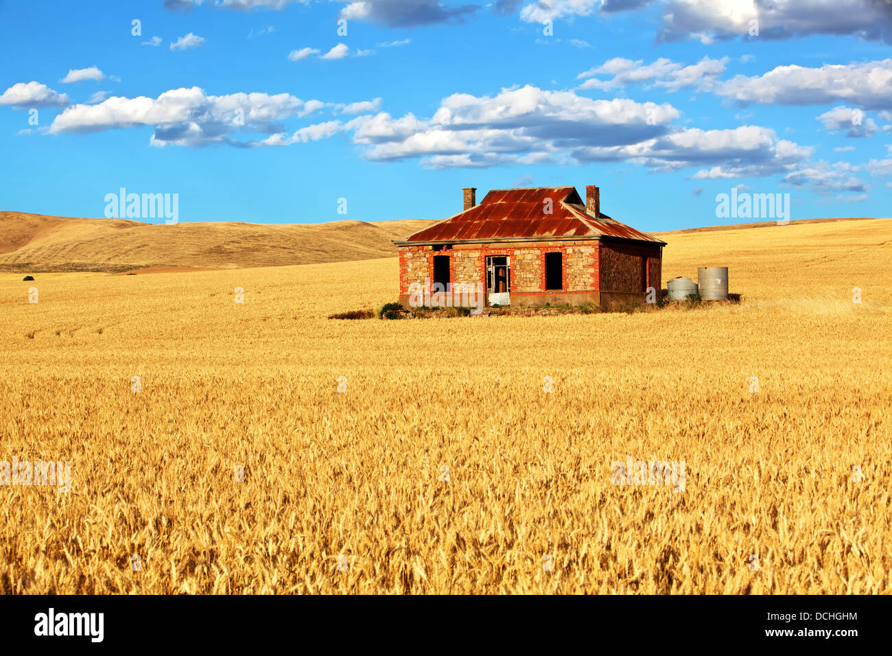 old abandoned farm house homestead sits derelict in the middle of DCHGHM - Get Images Of Old Australian Farm Houses  Pics