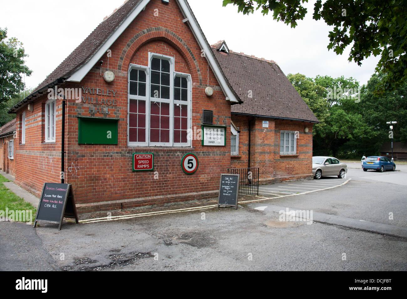 Yateley Village Hall Hampshire UK