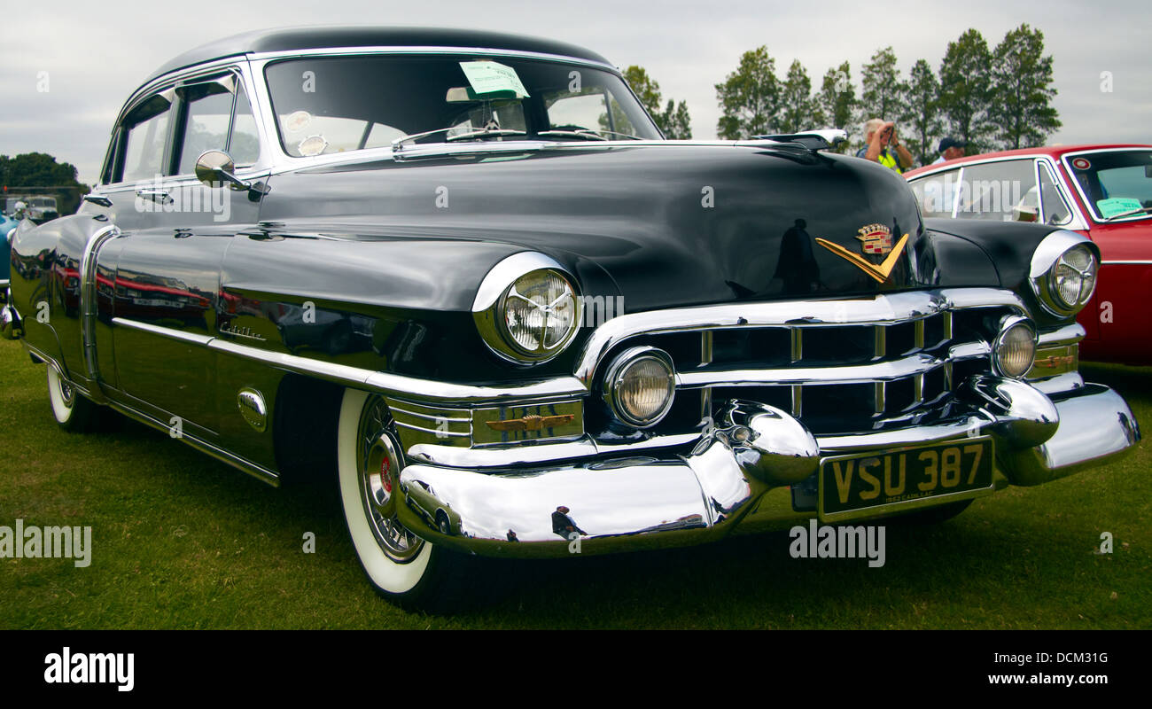 Vintage American Cadillac from the 1950\'s, Wings and Wheels Show ...