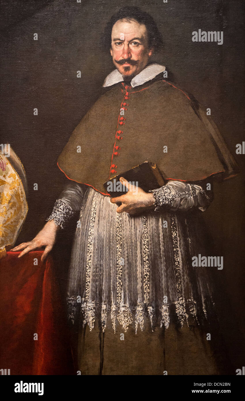 17th Century  The Bishop Alvise Grimani Around 1633  Bernardo  Strozziphilippe Sauvanmagnet
