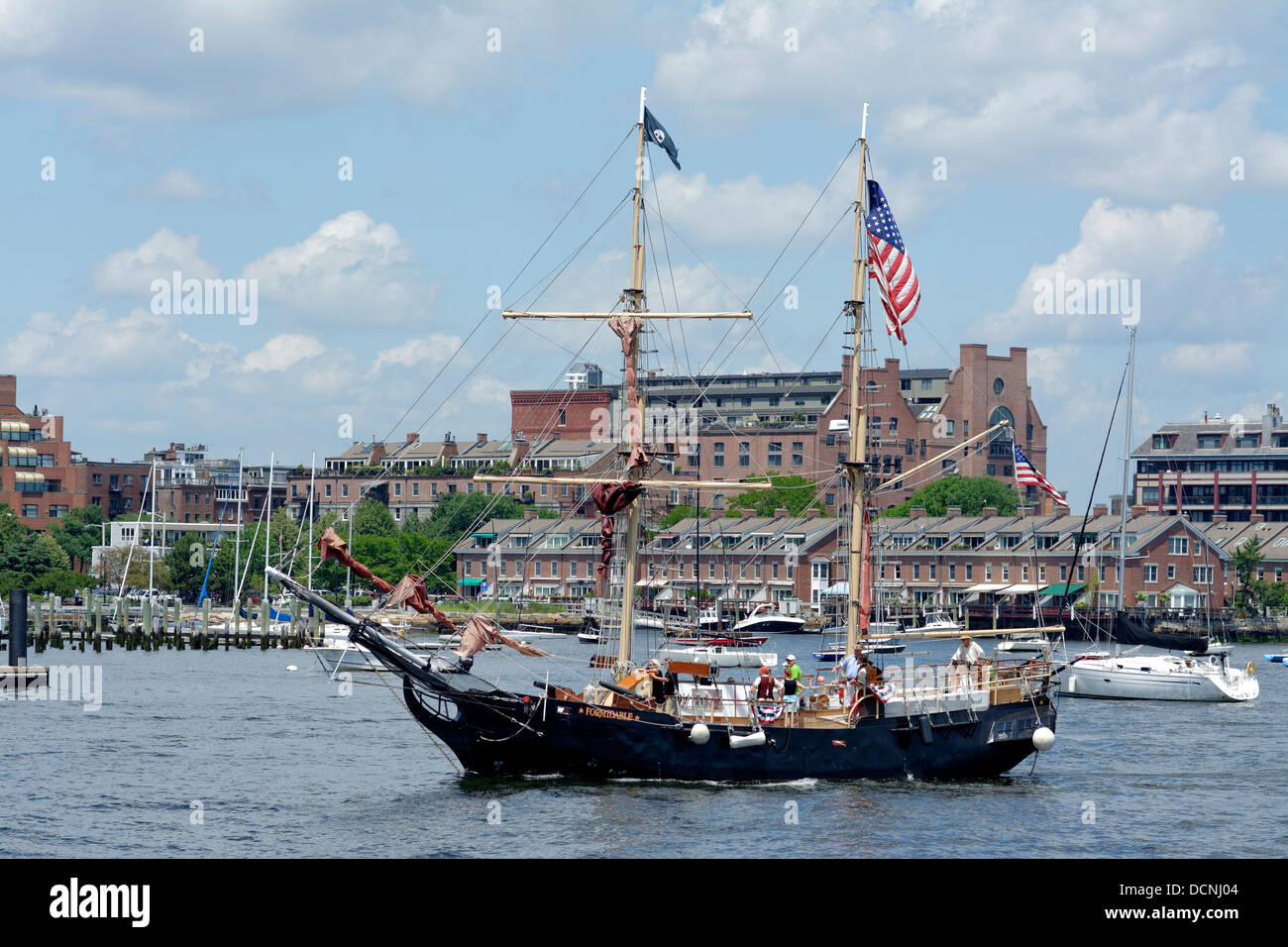 The Pirate Tall Ship Formidable Returns From Cruise In Boston - Boston tall ship cruise