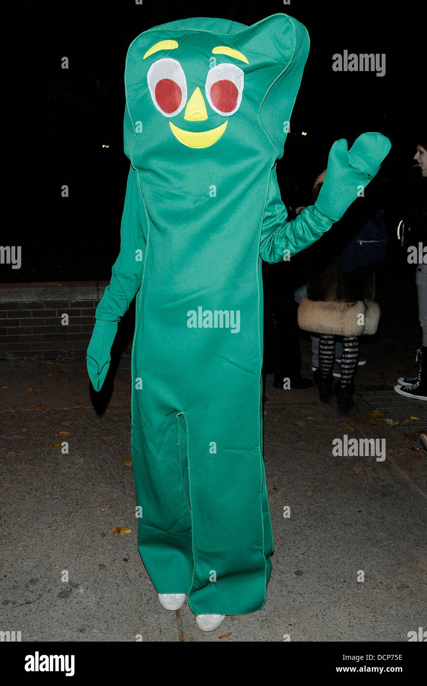 Gumby costume Annual Halloween on Church Street - The Block Party ...