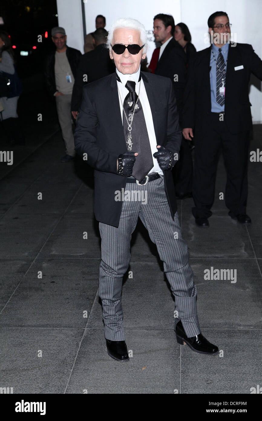 Karl Lagerfeld The Museum Of Modern Art Film Benefit - Film museums in usa