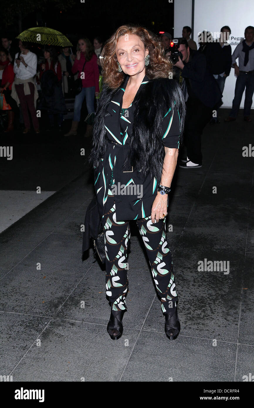 Diane Von Furstenberg The Museum Of Modern Art Film Benefit - Film museums in usa
