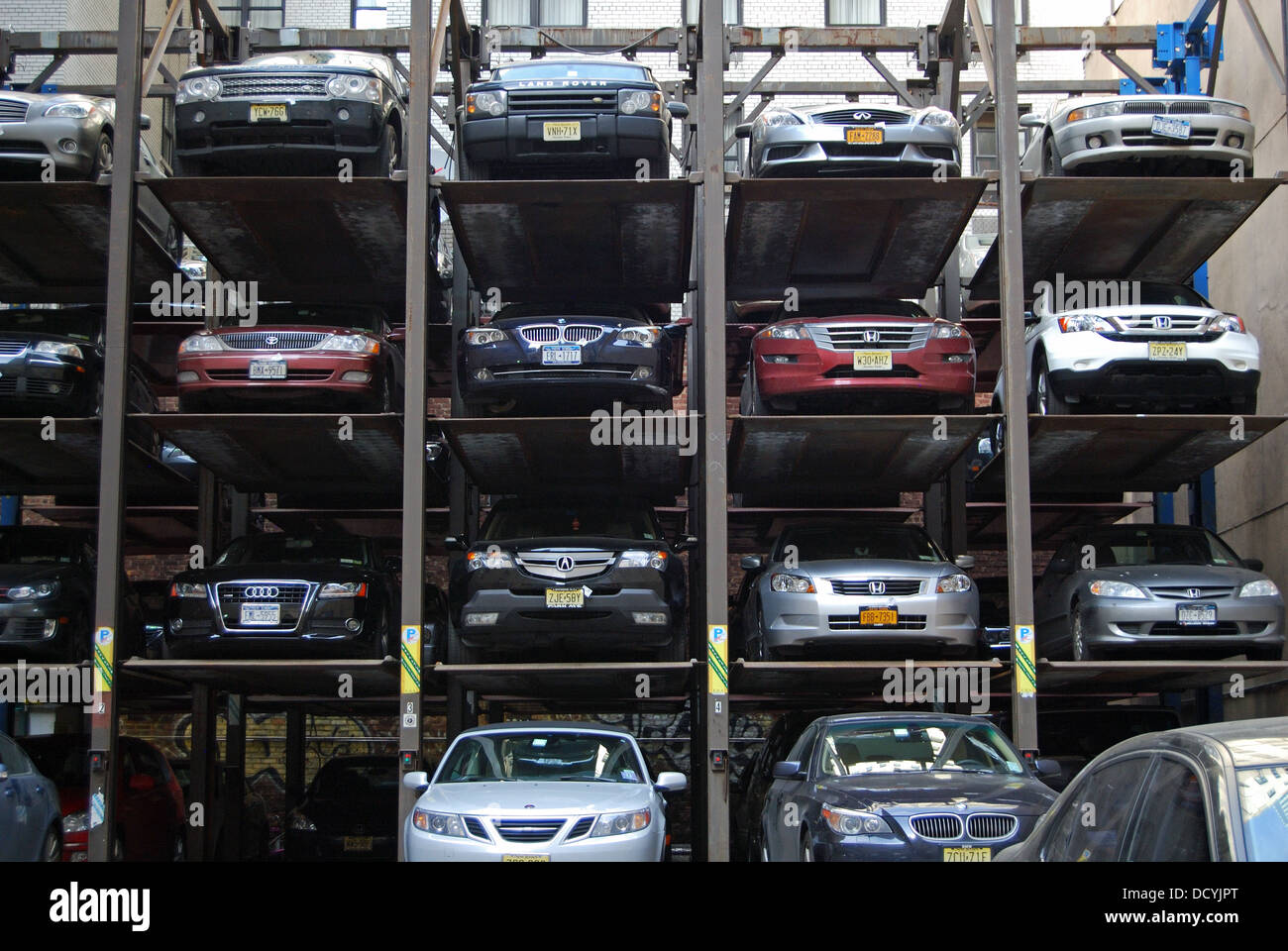 Car Stack Parking Stock Photos Car Stack Parking Stock Images