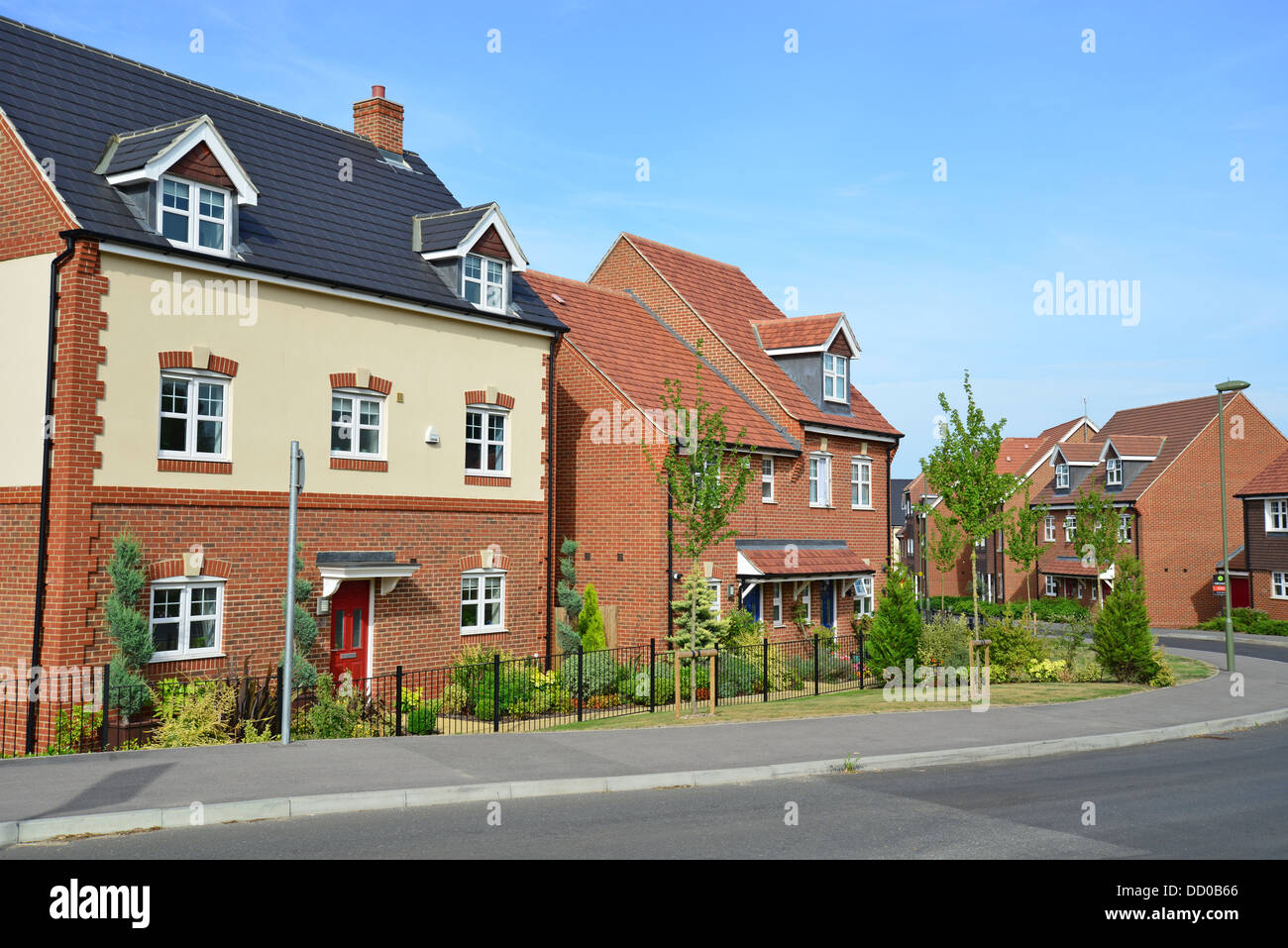 New houses on earlswood park housing development bagshot for New housing developments