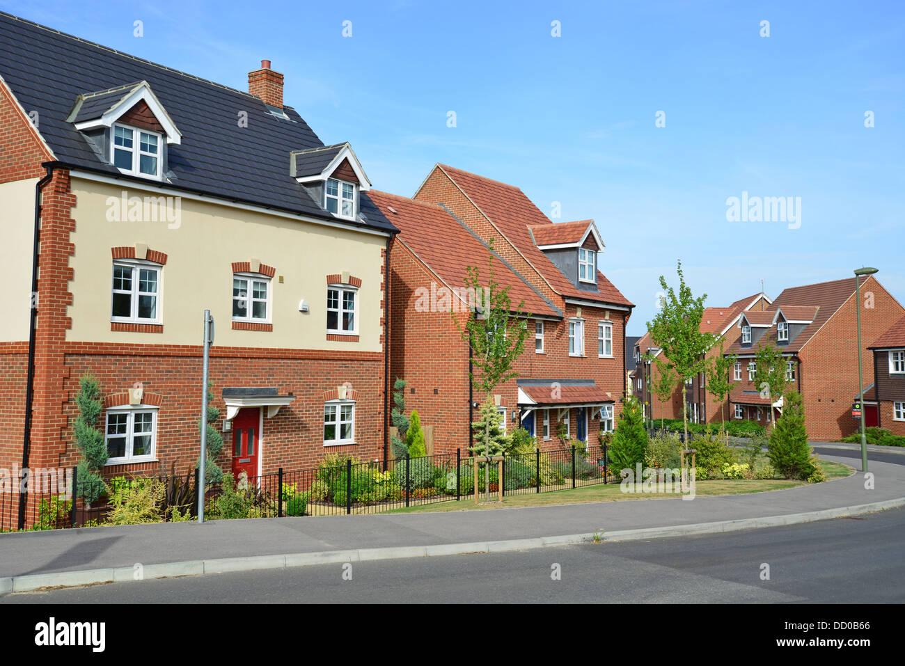 New Houses On Earlswood Park Housing Development Bagshot