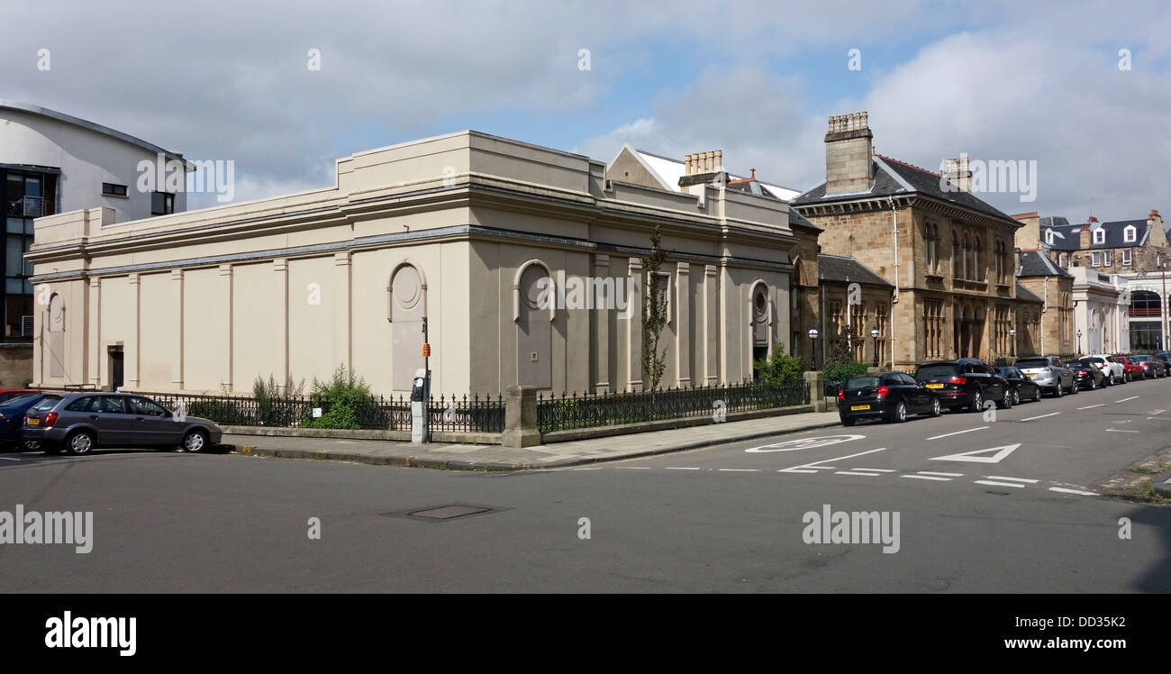 The western baths buildings in cranworth street glasgow scotland with stock photo royalty free for Swimming pool west end glasgow
