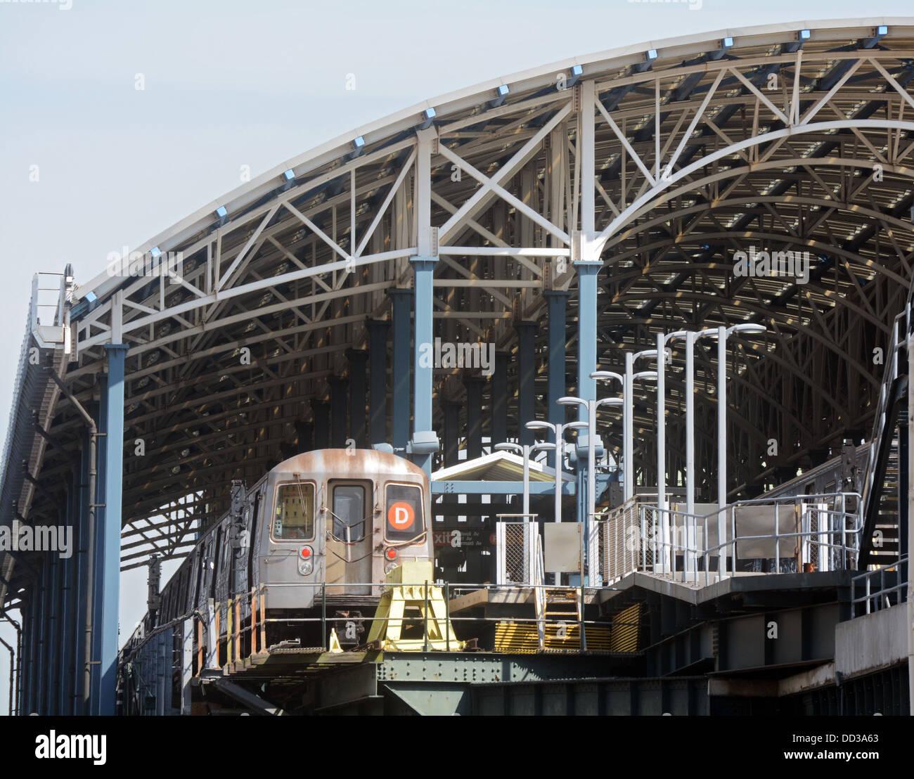 Last Stop Coney Island Train