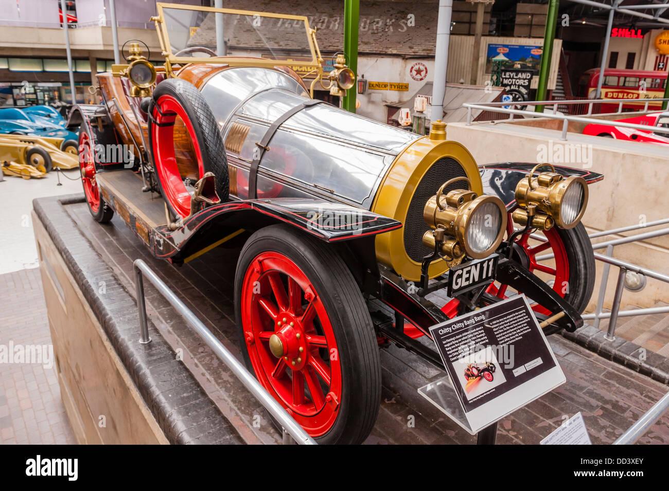 Chitty Chitty Bang Bang Inside The National Motor Museum