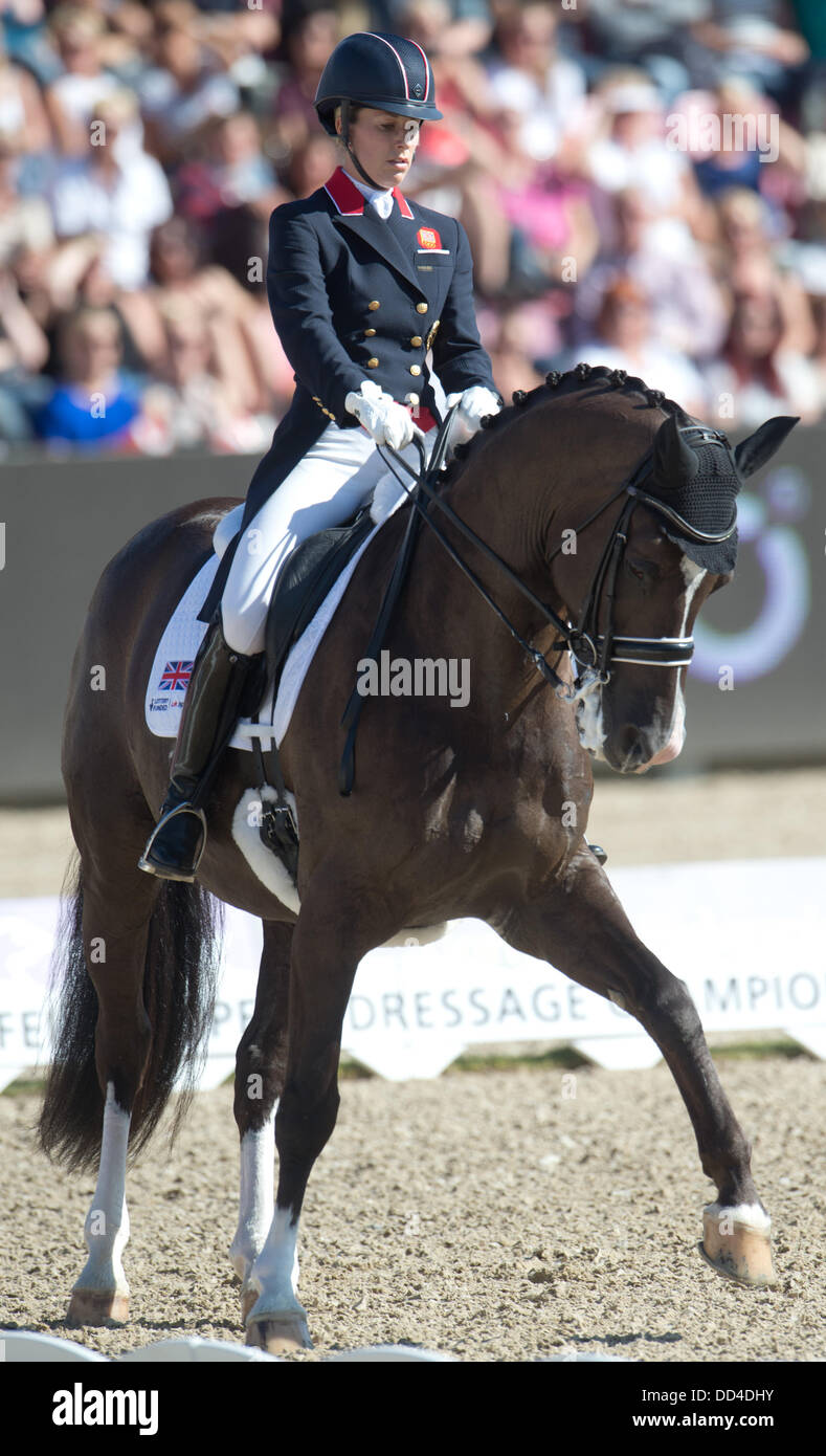 British dressage rider charlotte dujardin performs her for Charlotte dujardin