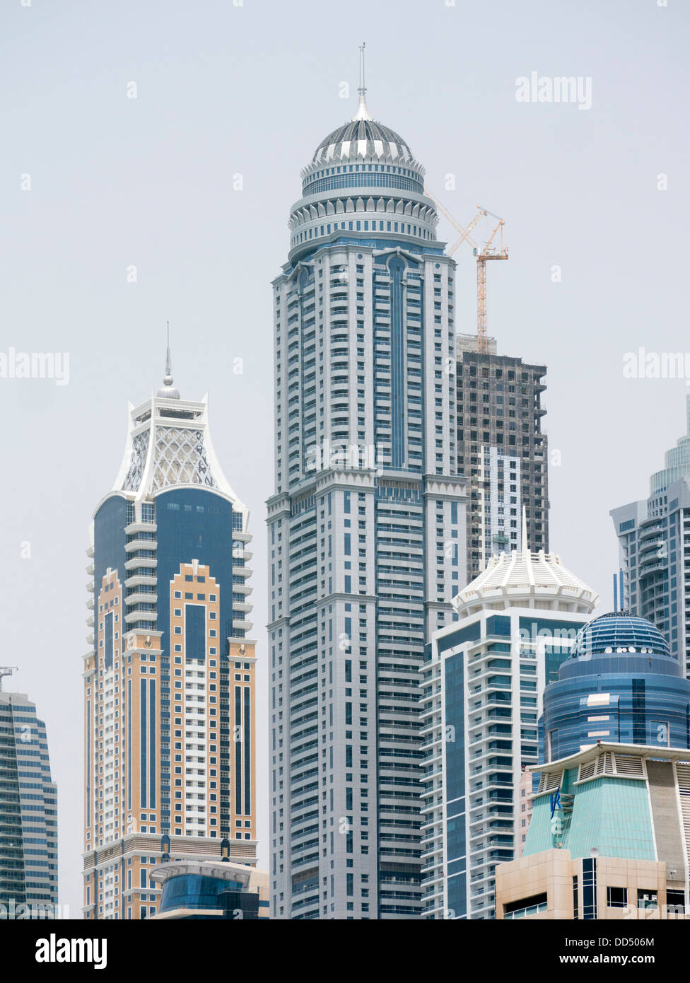 View Of Princess Tower In Dubai United Arab Emirates