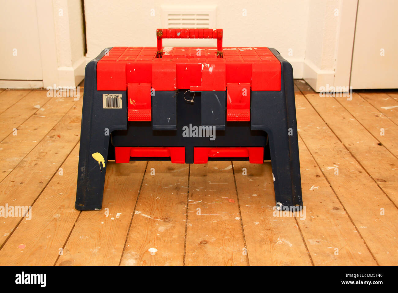 Step stool toolbox on bare floorboards & Step stool toolbox on bare floorboards Stock Photo Royalty Free ... islam-shia.org