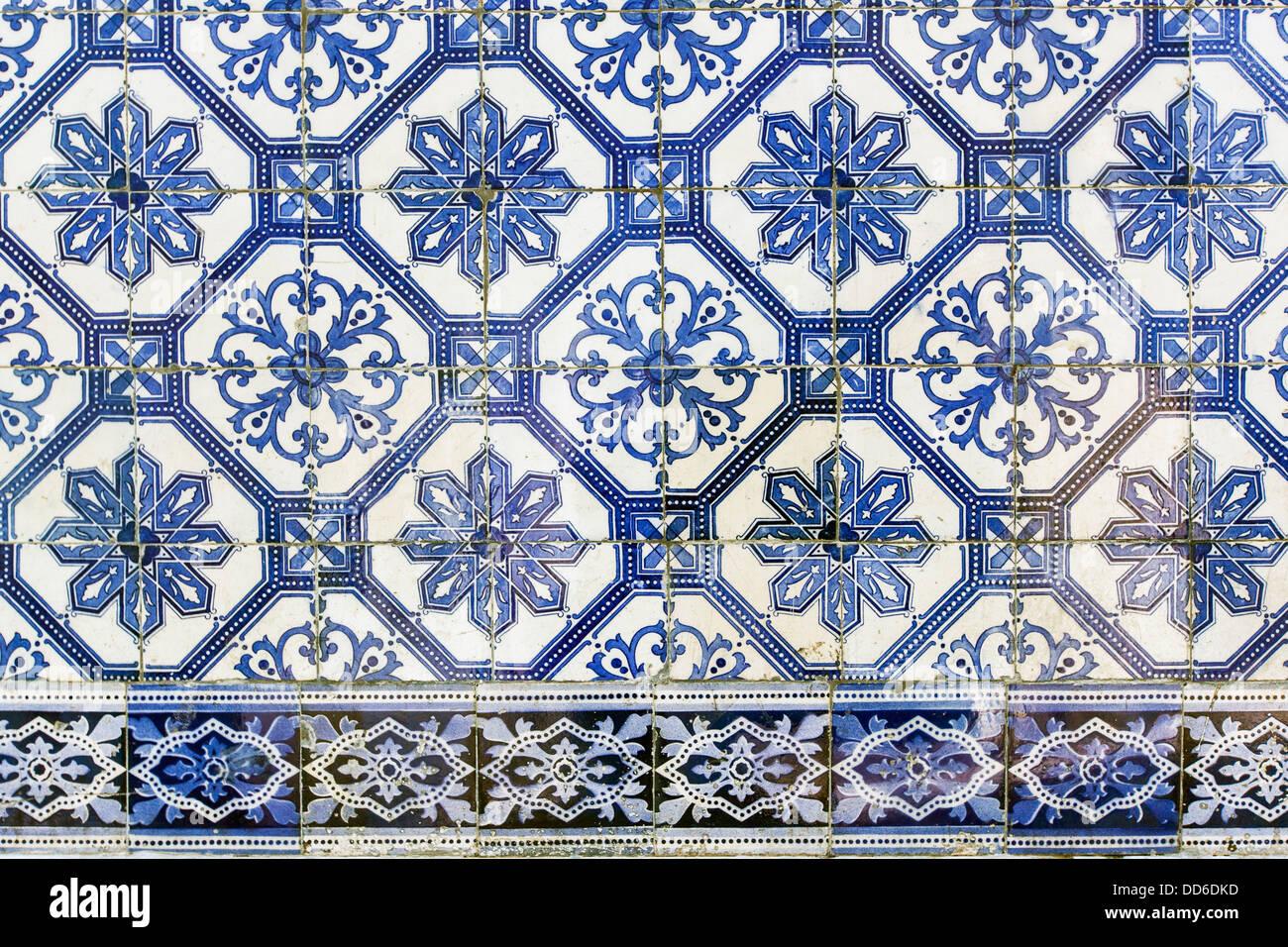 Hand Painted Portuguese Ceramic Tile Lisbon Portugal