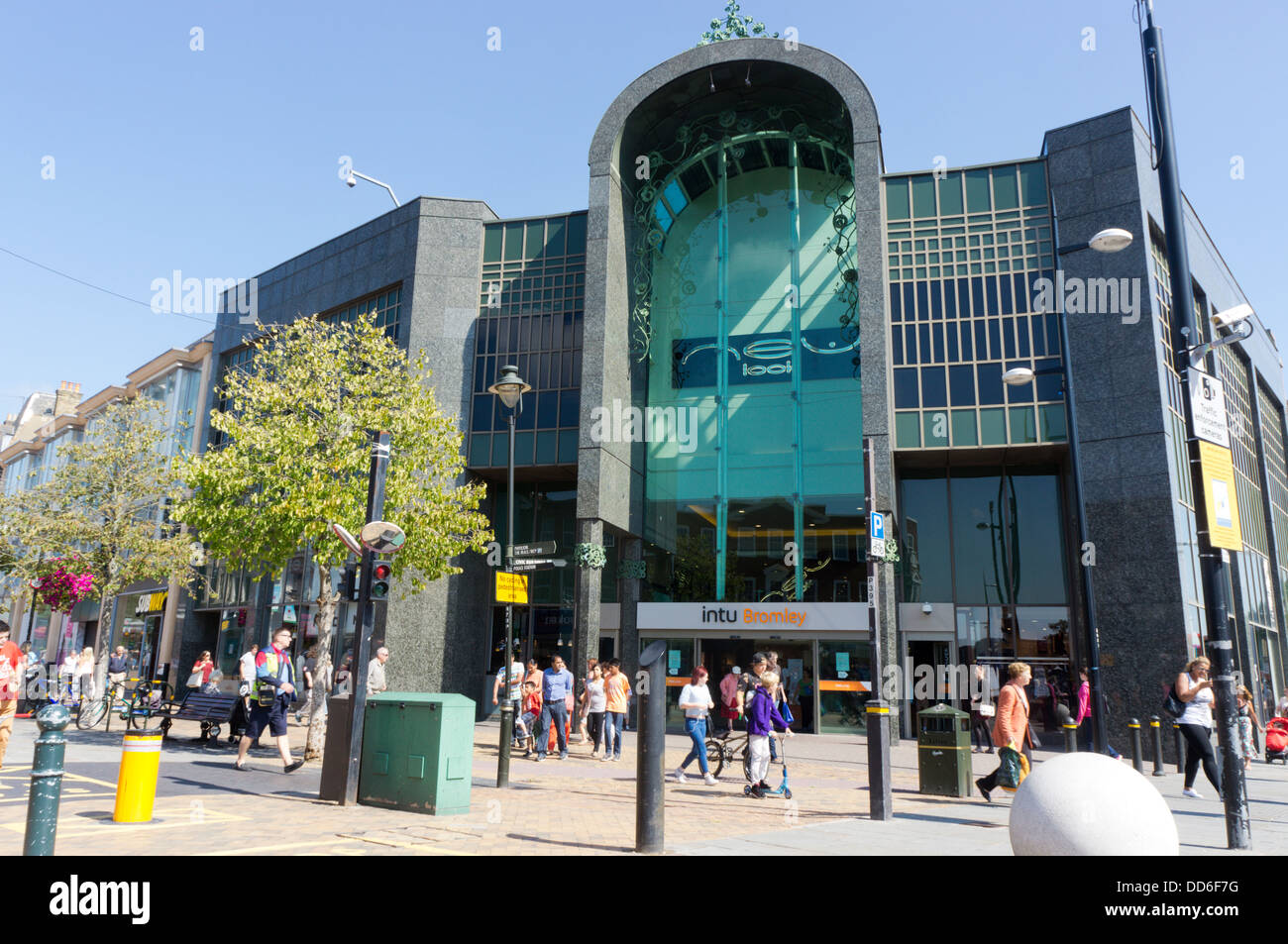 The glades shopping centre in bromley has been re branded for The bromley