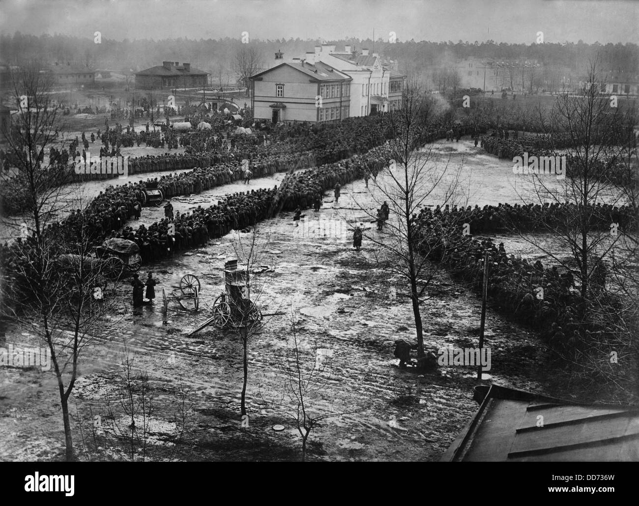 World war 1 15 000 russian prisoners taken by the german eighth army