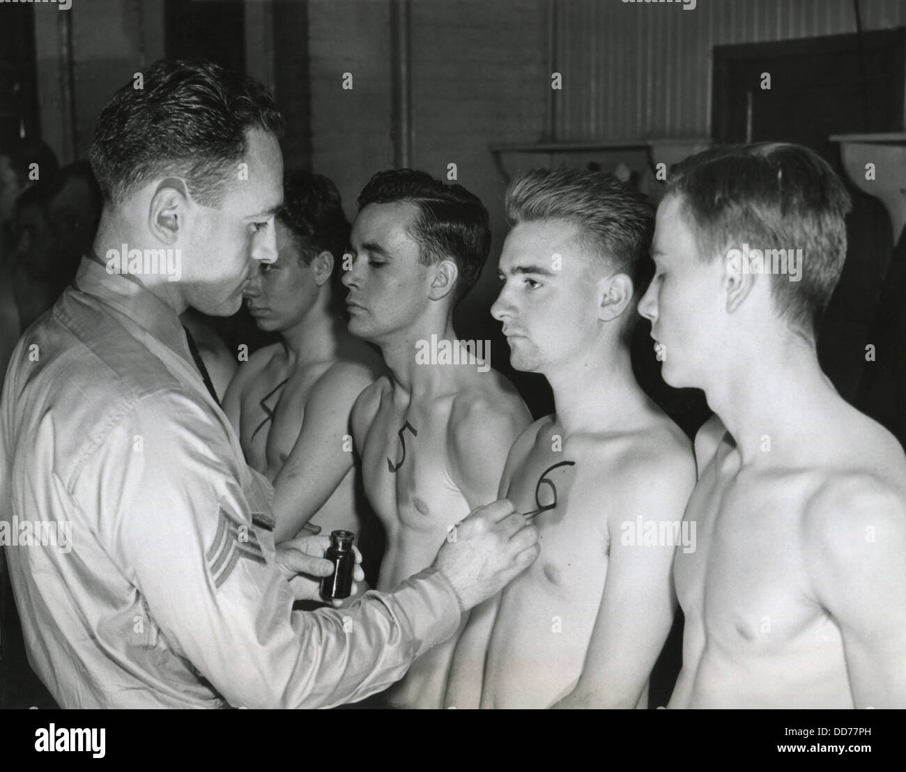 Gay soldiers naked medical exam first time