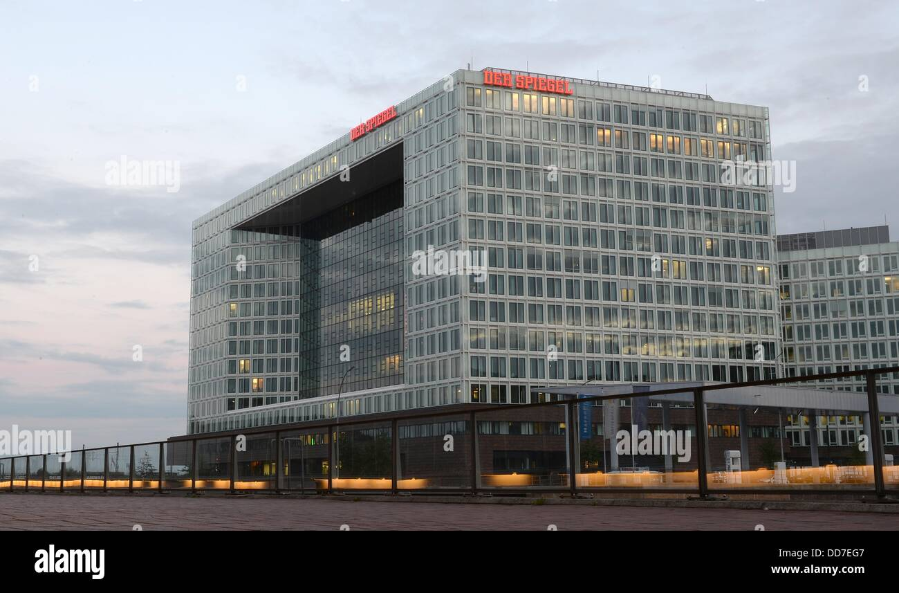 the building of news magazine 39 der spiegel 39 is pictured at