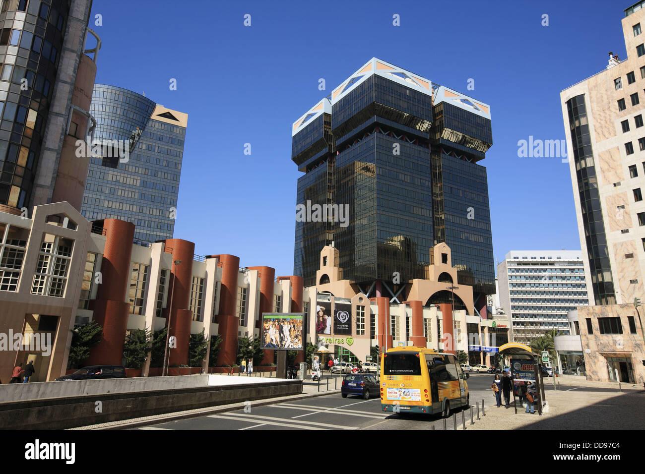 Amoreiras shopping mall lisbon portugal stock photo royalty amoreiras shopping mall lisbon portugal sciox Gallery