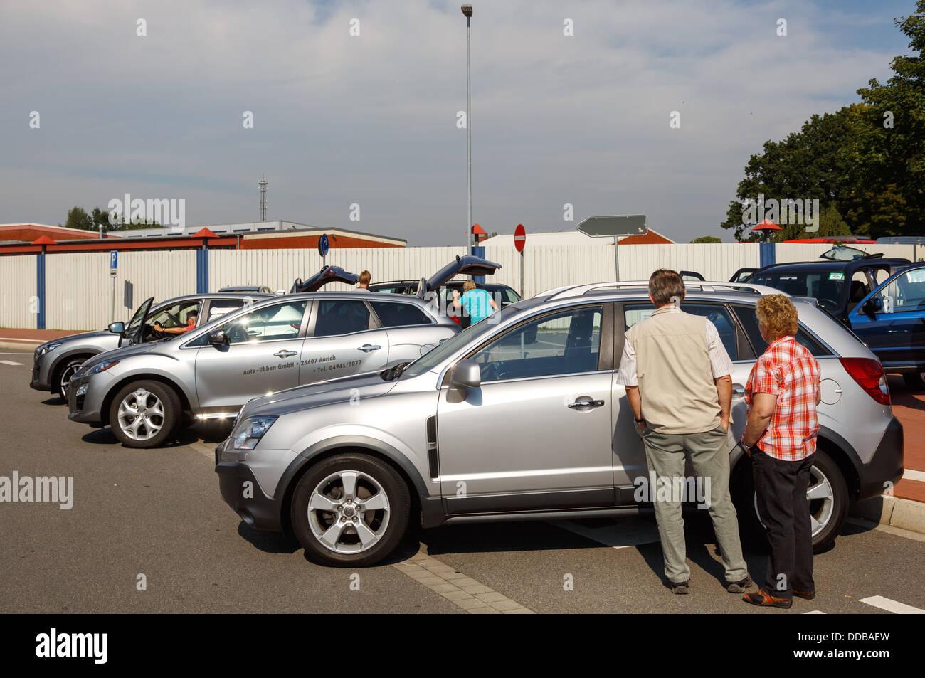 Aurich, Germany, used car trade - First Auricher Gebrauchtwagentag ...