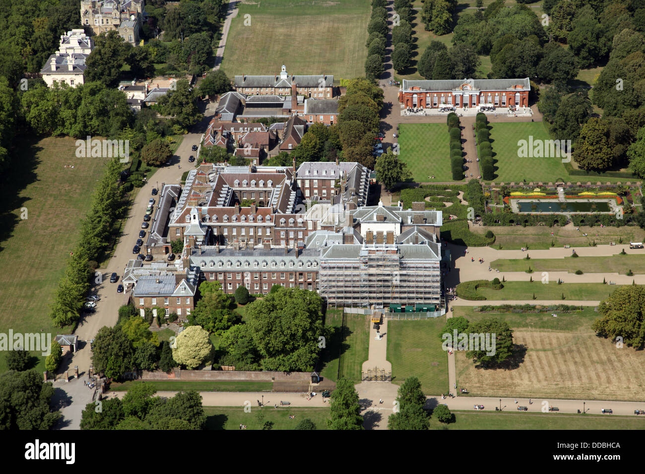White House Layout Floor Plan Aerial View Of Kensington Palace In London Home Of Prince