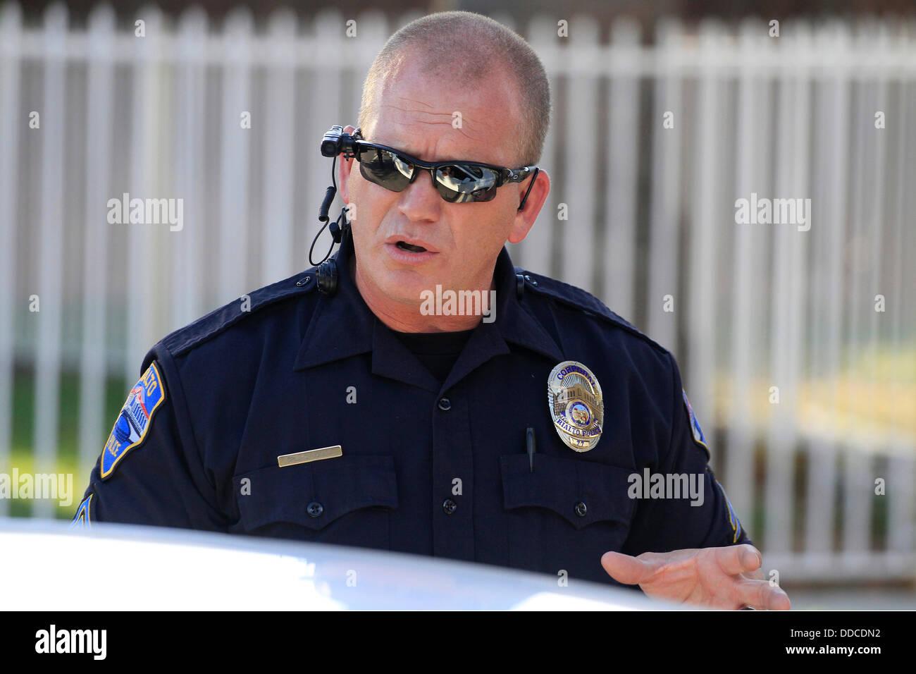 Aug. 19, 2013 - Rialto, California, U.s - Rialto Police Department ...