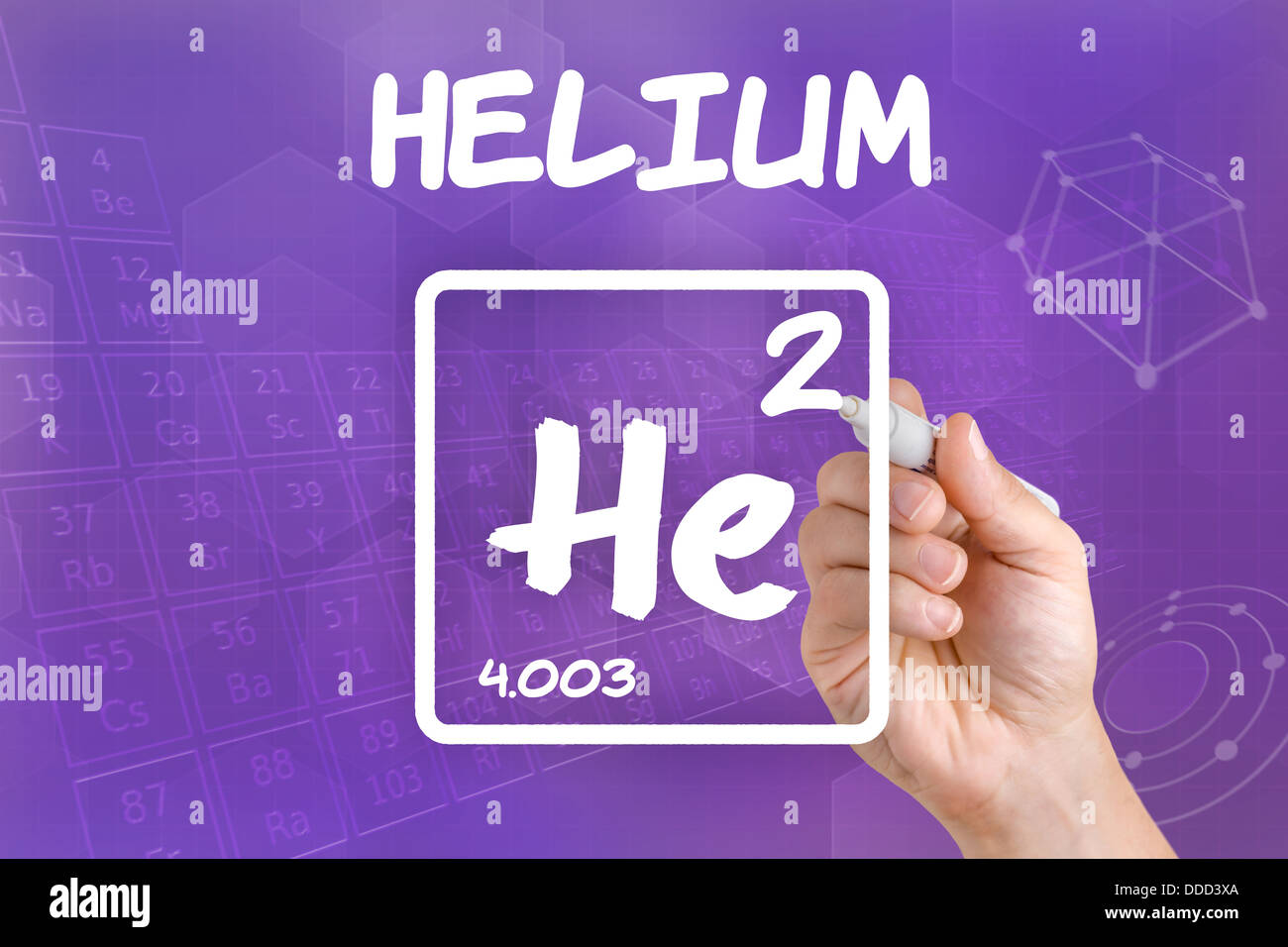 Symbol for the chemical element helium stock photo royalty free symbol for the chemical element helium buycottarizona