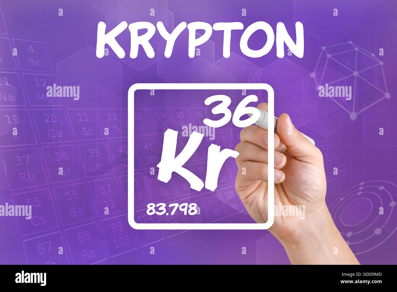 Symbol for the chemical element krypton stock photo royalty free symbol for the chemical element krypton buycottarizona