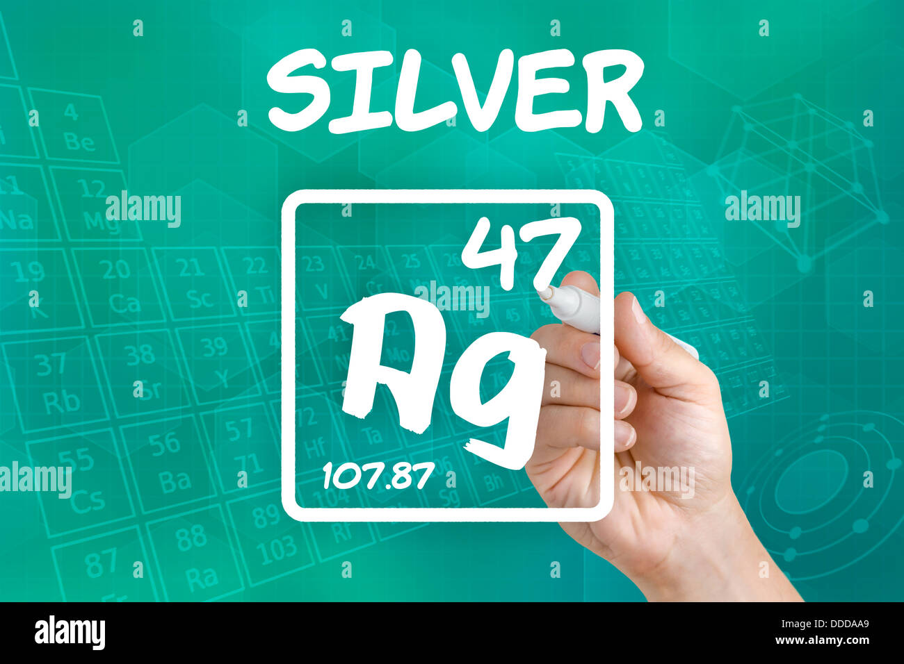 Symbol for the chemical element silver stock photo royalty free symbol for the chemical element silver buycottarizona