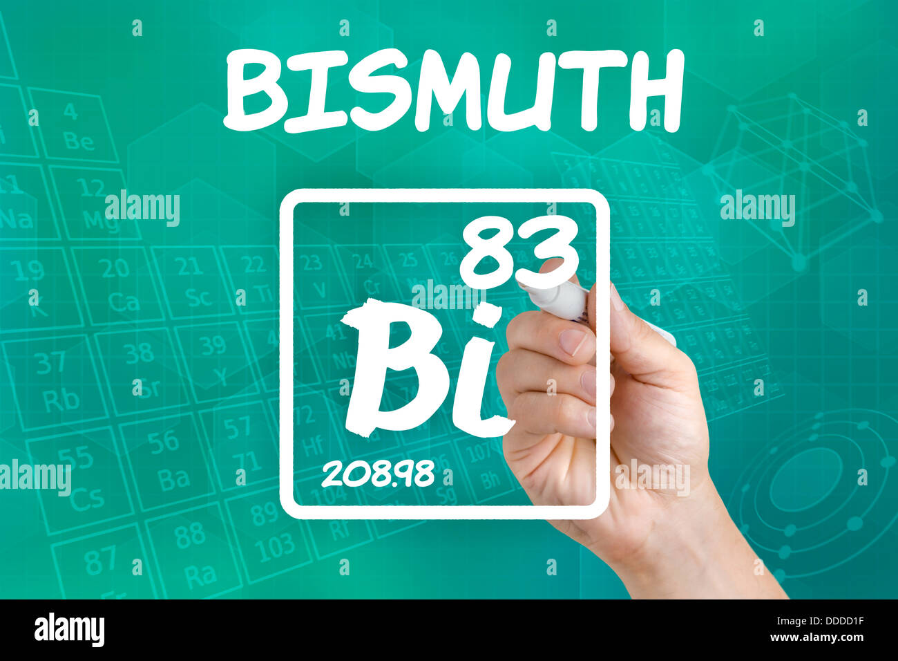 Symbol for the chemical element bismuth stock photo royalty free symbol for the chemical element bismuth buycottarizona