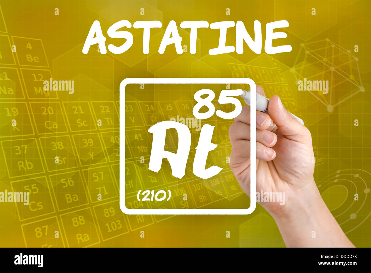 Symbol for the chemical element astatine stock photo royalty free stock photo symbol for the chemical element astatine gamestrikefo Image collections