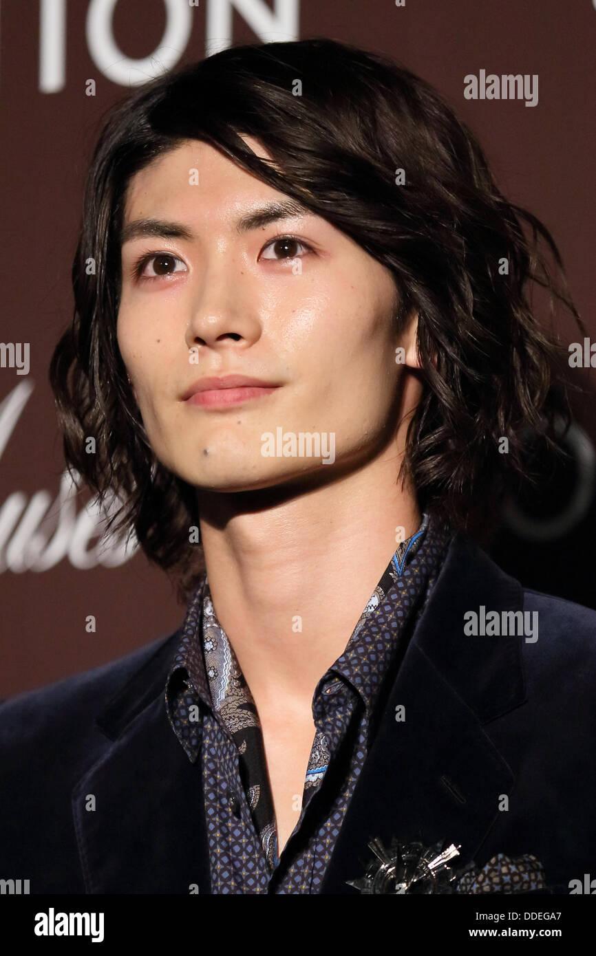 Haruma Miura, Aug 29, 2013 : Haruma Miura attends Louis ...