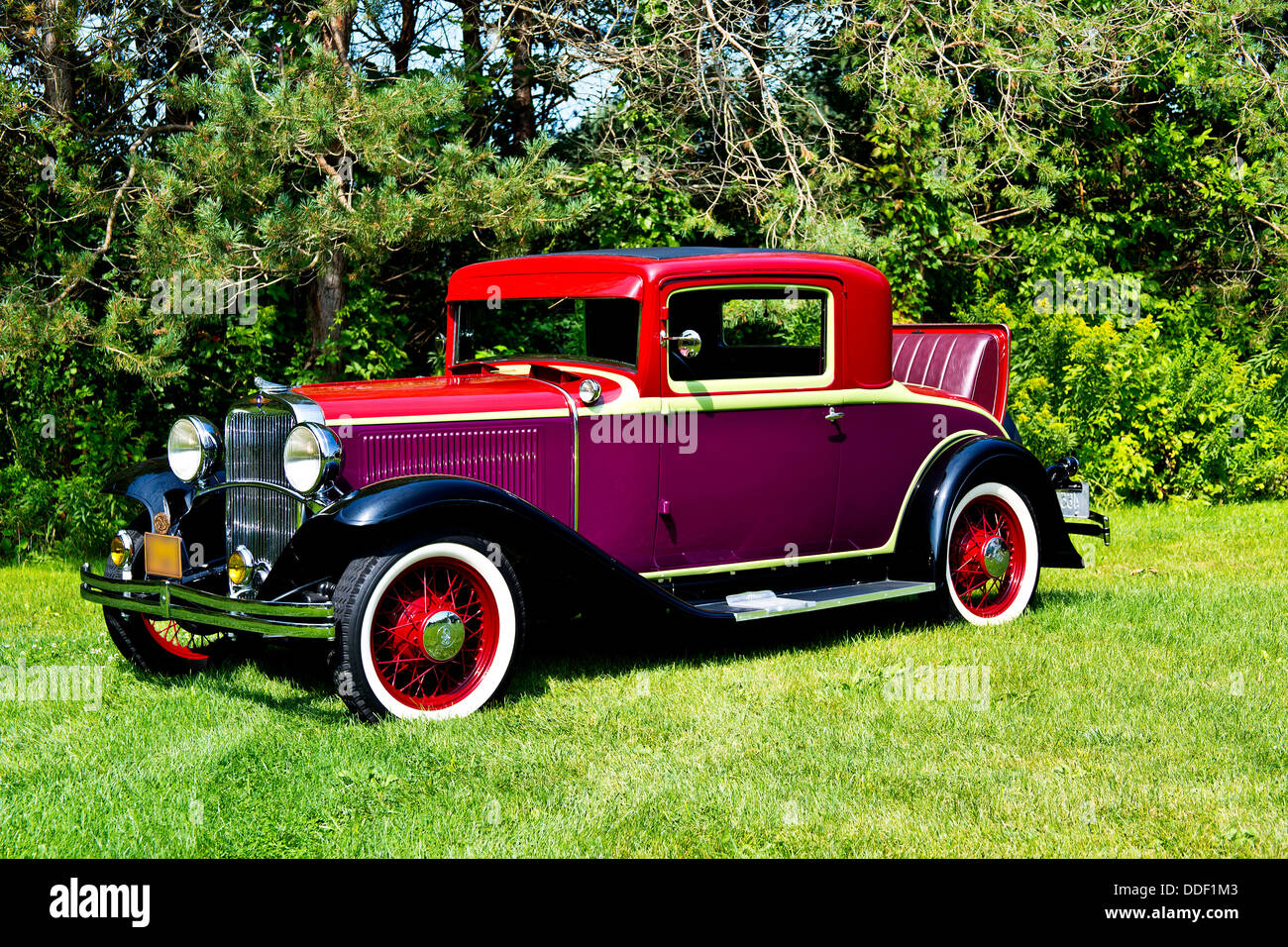 1931 dodge brothers rumble seat sport coupe stock image