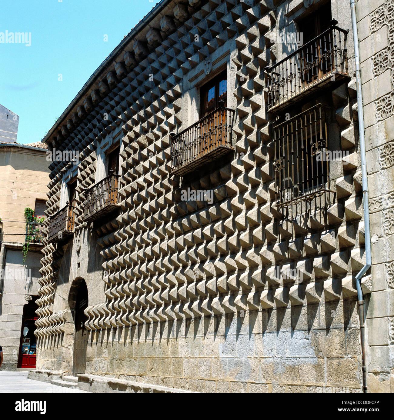Casa de los Picos (15th century), Salamanca. Castilla-Leon ...