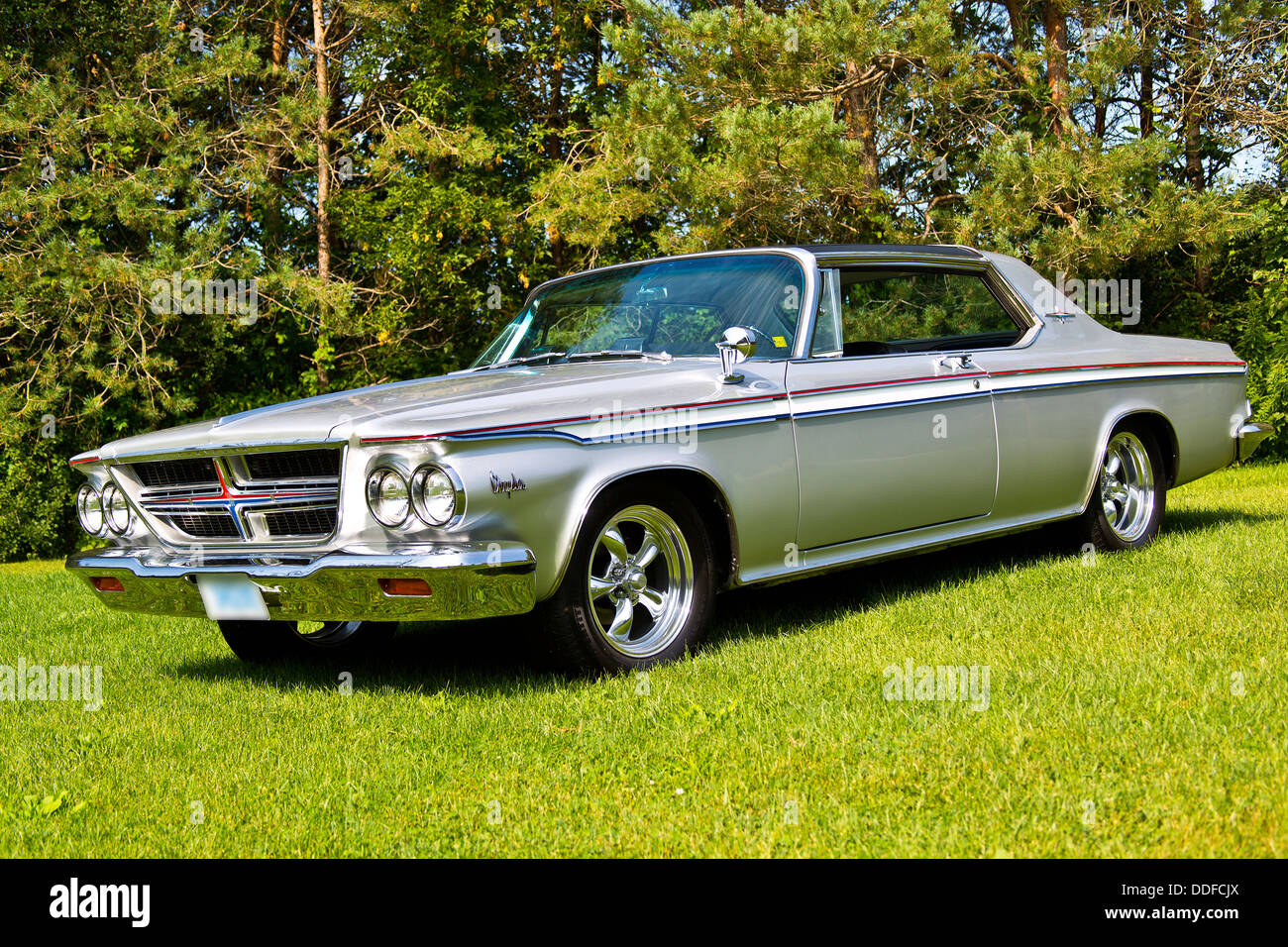 1964 chrysler 300 silver edition stock photo royalty free. Black Bedroom Furniture Sets. Home Design Ideas