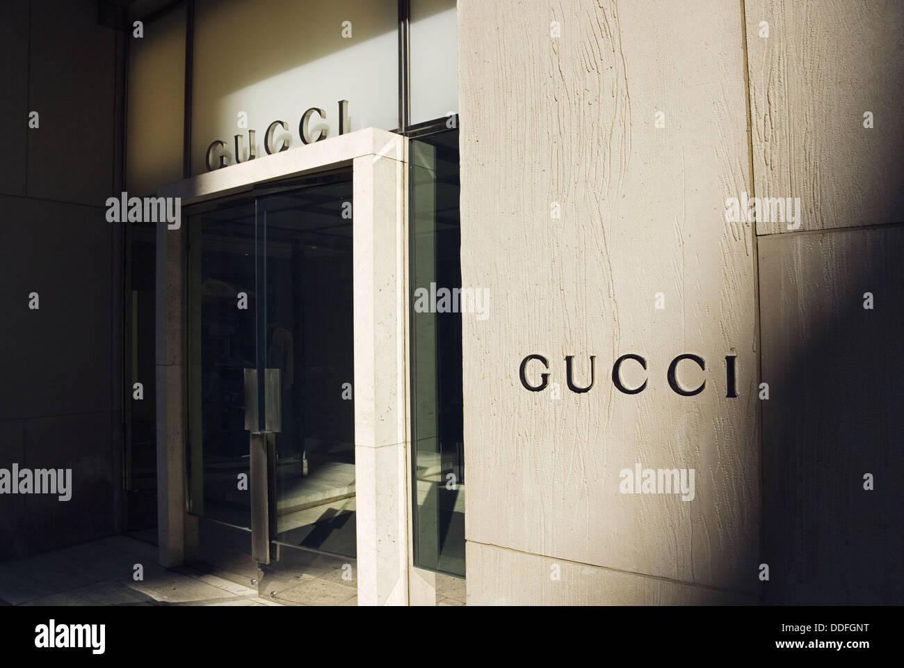 gucci 5th ave. gucci storefront, 5th avenue, manhattan, new york city, york, usa ave i