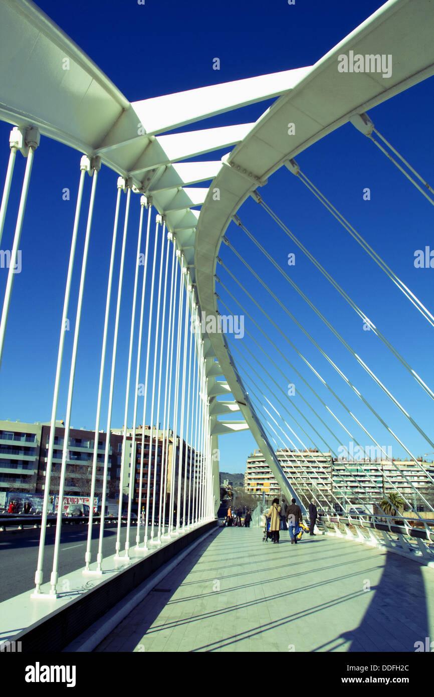 Bac de roda felipe ii bridge by santiago calatrava for Gimnasio bac de roda