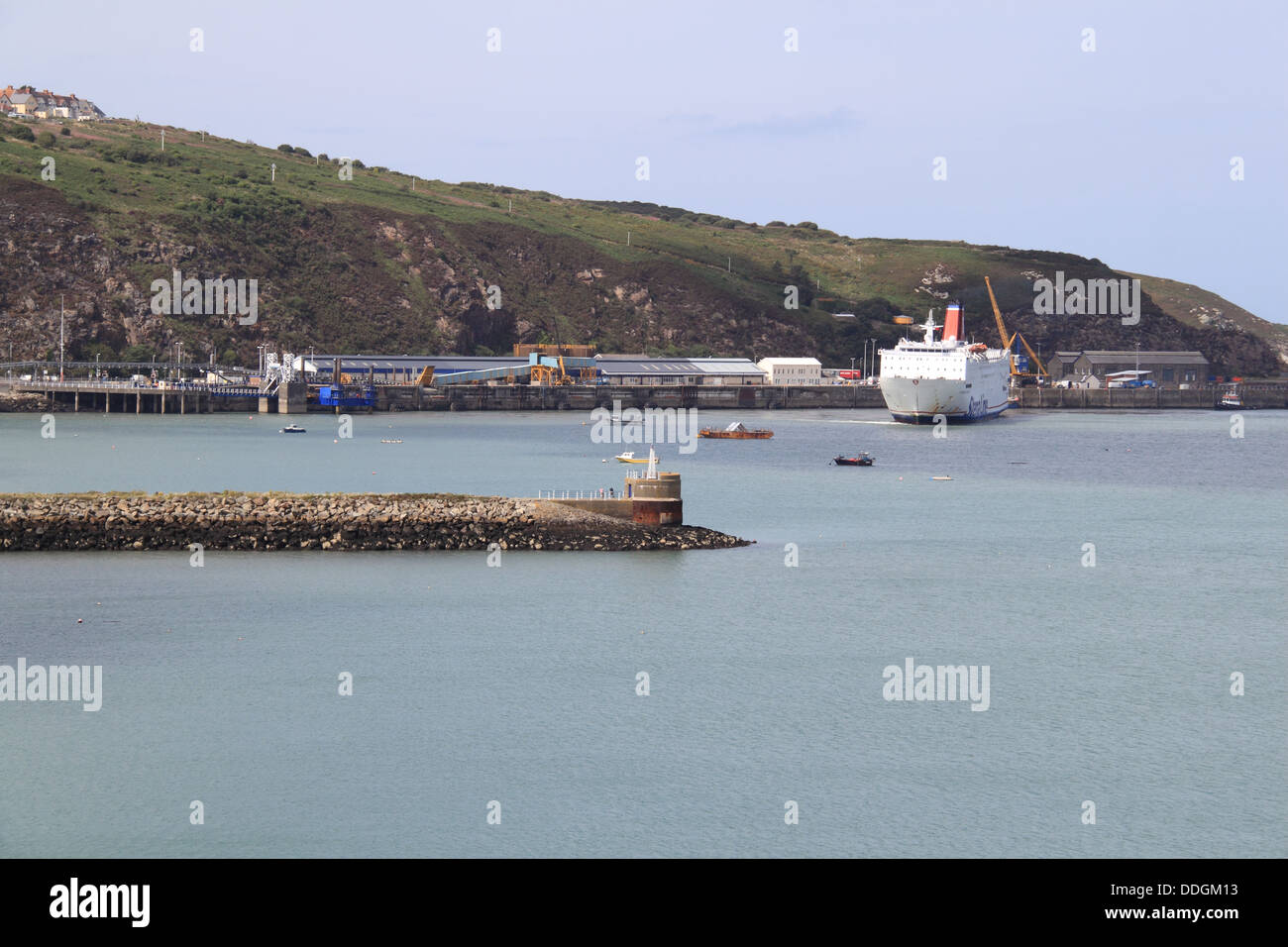 Stena europe ferry leaving fishguard ferry terminal - Rosslare ferry port arrivals ...
