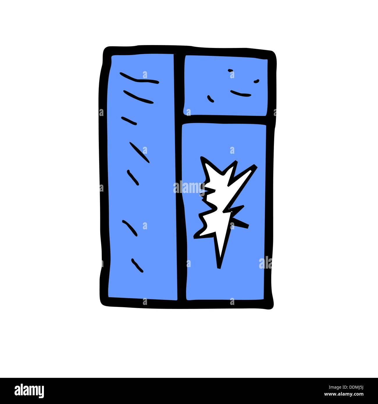 Broken window glass broken arm broken crack vector for Window glass design 5 serial number