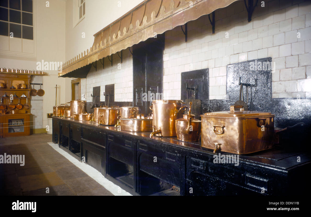 Great Kitchen The Great Kitchen Royal Pavilion Brighton East Sussex 1960s