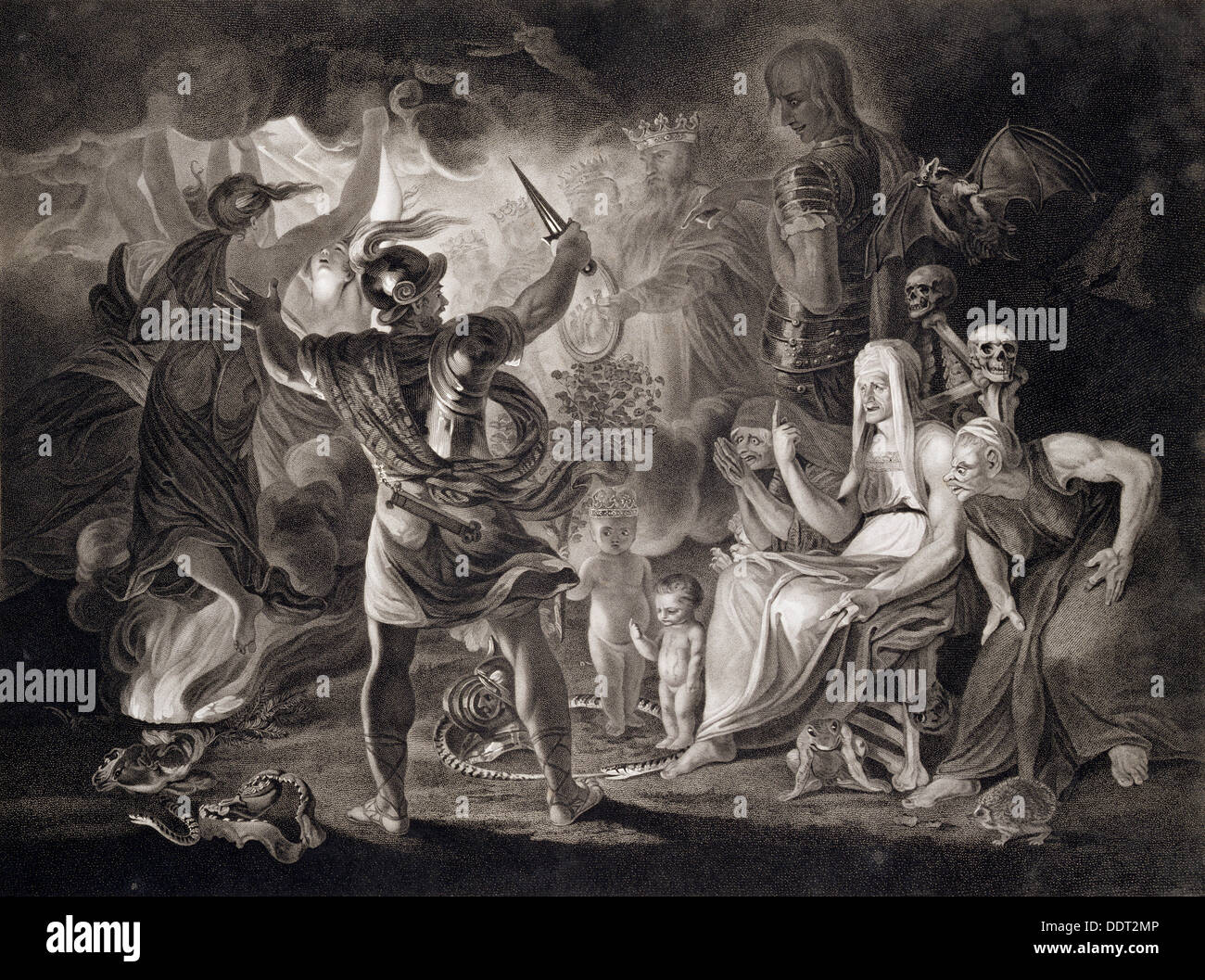 an examination of the three witches in macbeth by william shakespeare William shakespeare the company  macbeth and banquo encounter three witches who prophesy that macbeth will become king of scotland  and an examination of the .