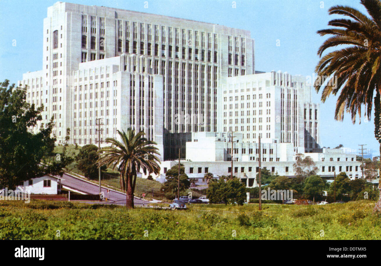 los angeles county general hospital los angeles california usa 1953