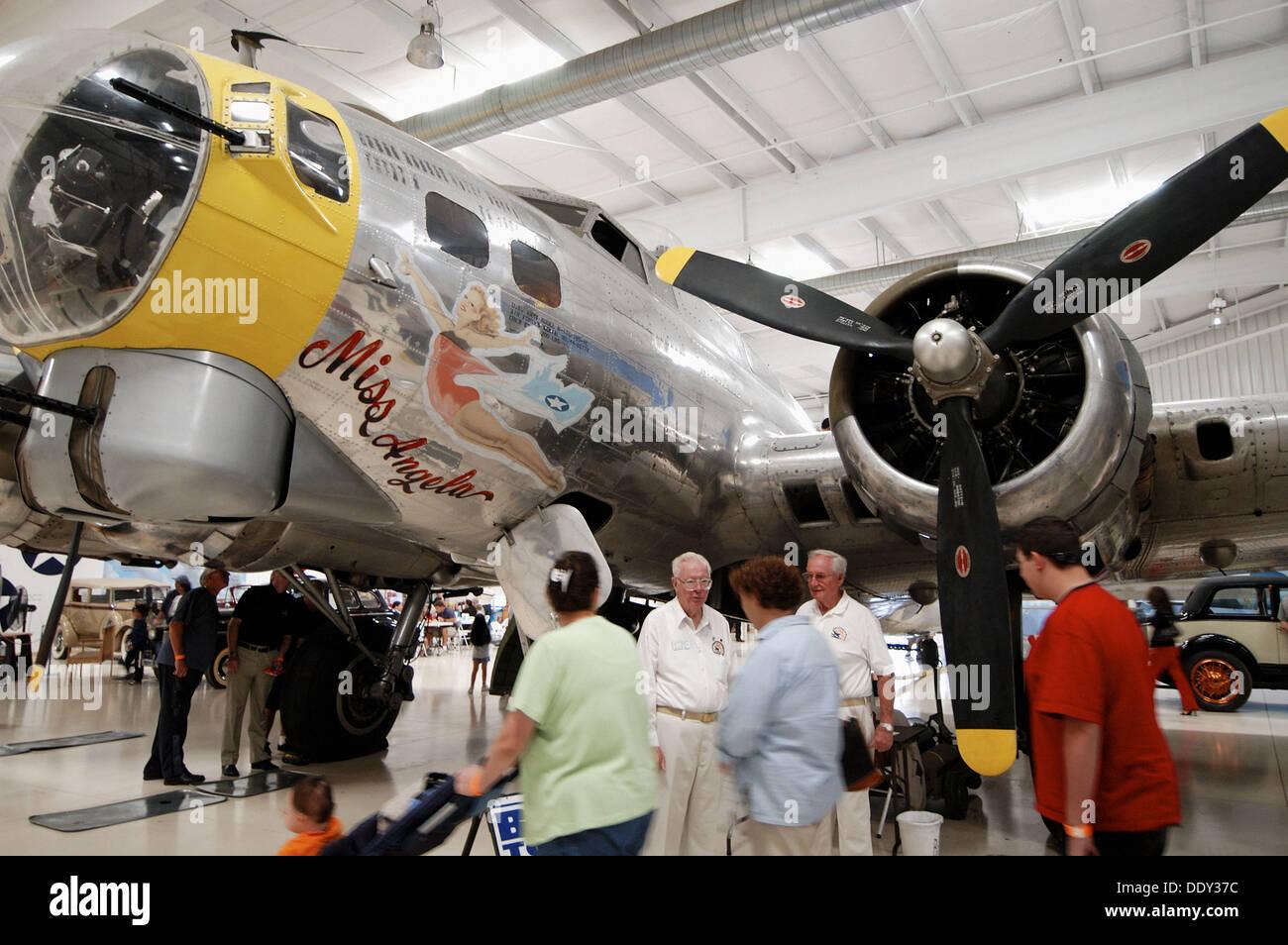 Restored World War II B Bomber Palm Spring Air Museum CA USA - World war ii museums in usa