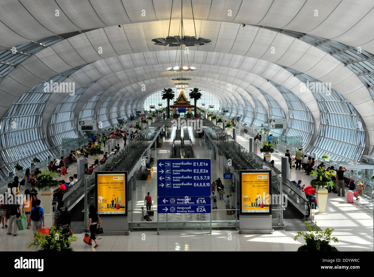 Bangkok International Suvarnabhumi Airport Of Thailand Stock Photo
