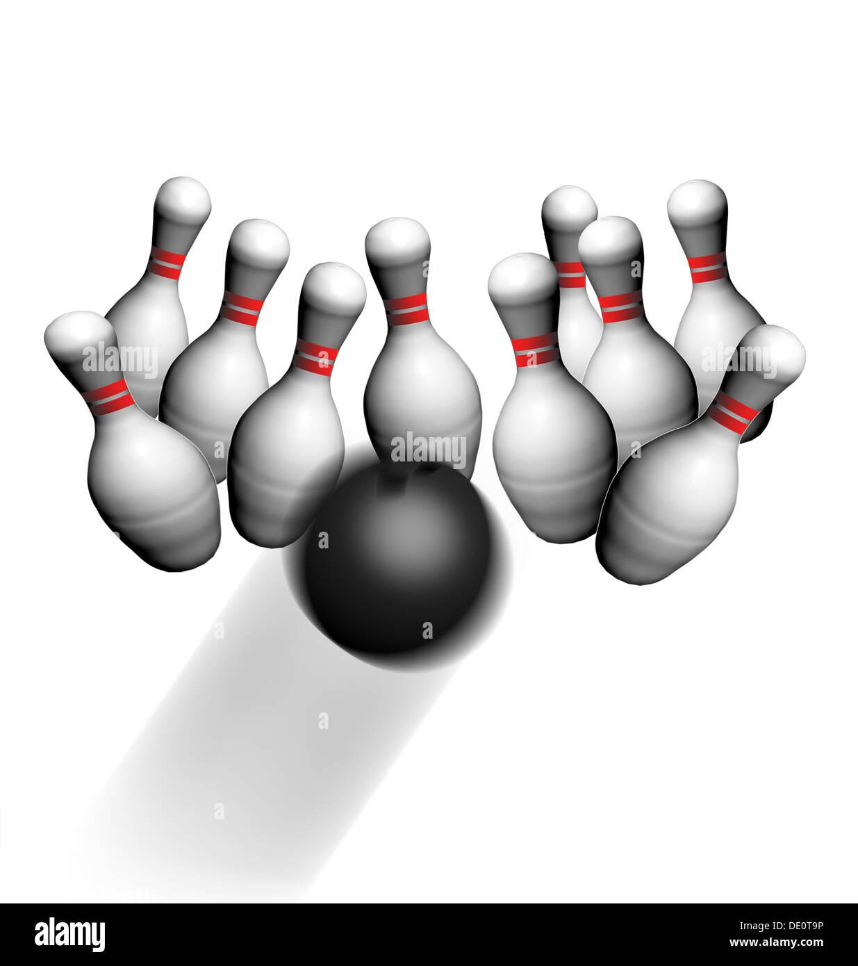 Bowling pins hi...