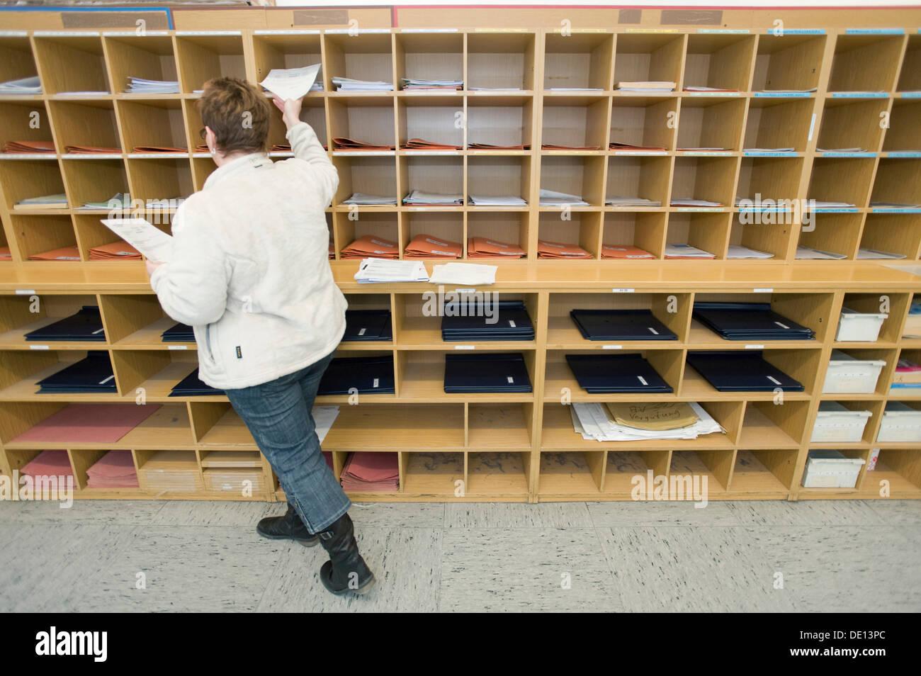 Munich Tax Office II, Post Department, Mail Distribution