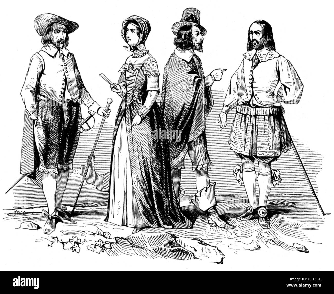 Th Century Men S And Women S Fashion