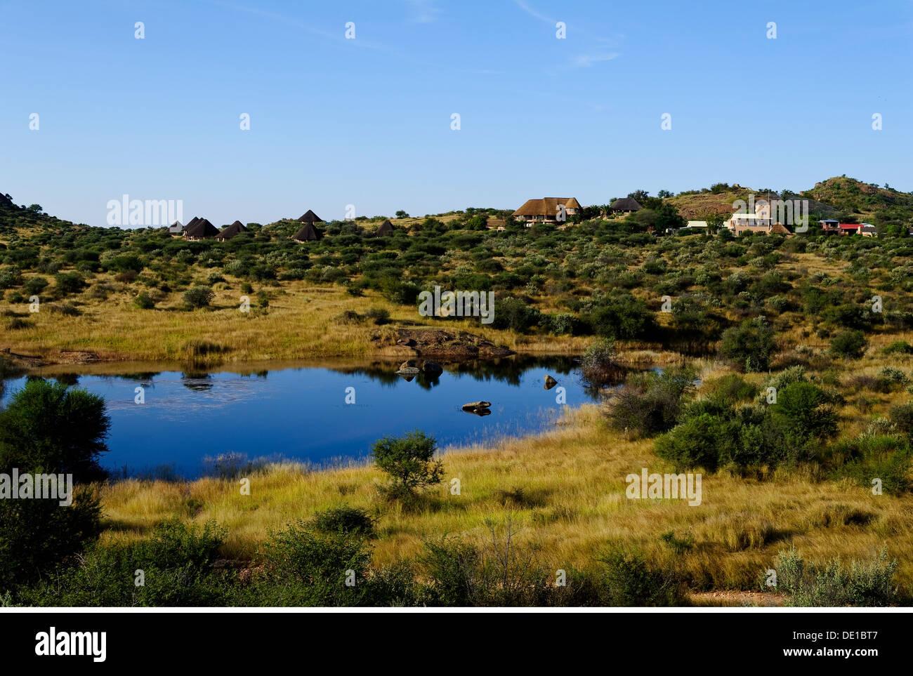 savanna grassland features